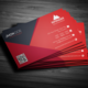 Material Business Card - GraphicRiver Item for Sale
