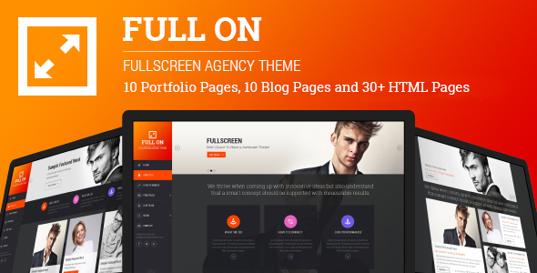 Full On – Fullscreen Creative Agency HTML Theme