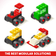 Toy Block Cars Isometric - GraphicRiver Item for Sale