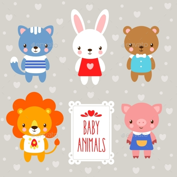 Baby Animals - Animals Characters