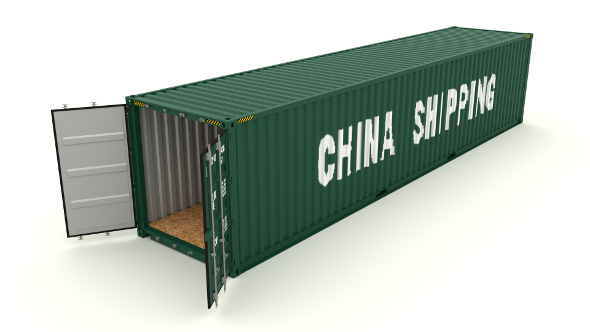 Shipping container China Shipping - 3DOcean Item for Sale