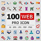 100 Web Pro Icons
