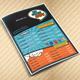 The Comics Cafe Menu || A4 Half folded - GraphicRiver Item for Sale