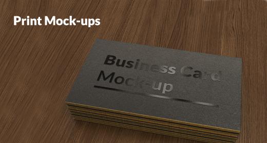 Print Mock-ups