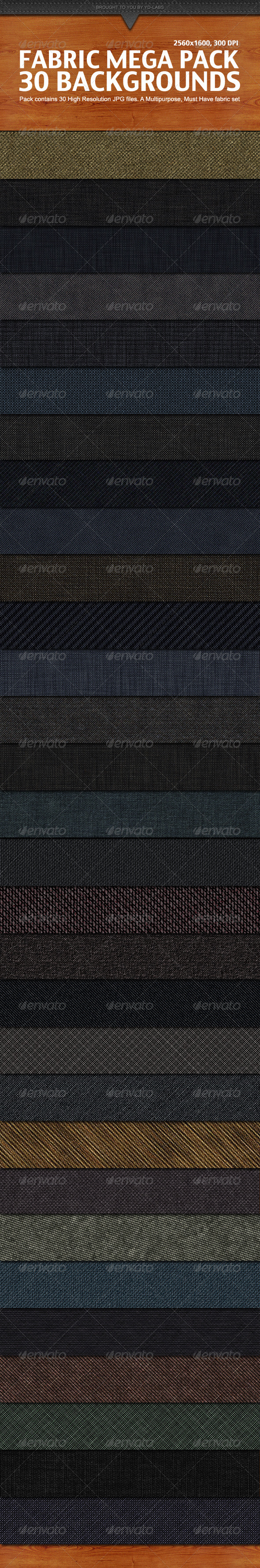 Fabric Mega Pack - Patterns Backgrounds