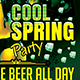 Cool Spring Party Flyer Template - GraphicRiver Item for Sale