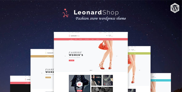 Leonard Shop – Responsive Mutil Page WordPress