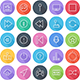 Multimedia and Technology Flat Icons - Line Icons - GraphicRiver Item for Sale