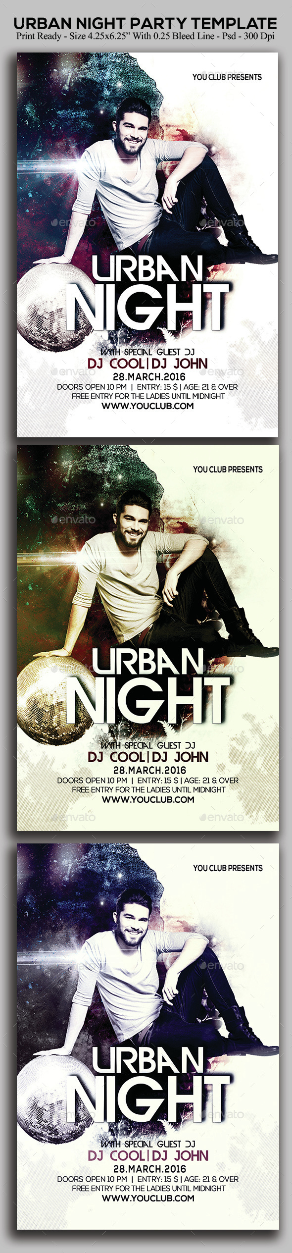 Urban Night - Clubs & Parties Events