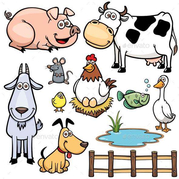 Animals Farm - Animals Characters