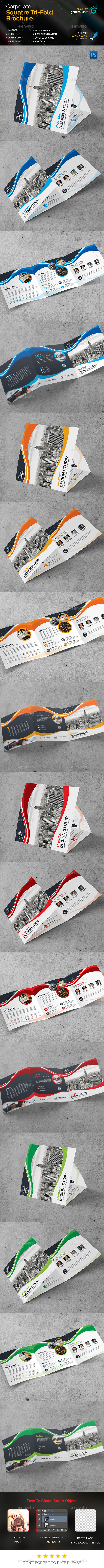 New_Square Tri-Fold Brochure - Corporate Brochures
