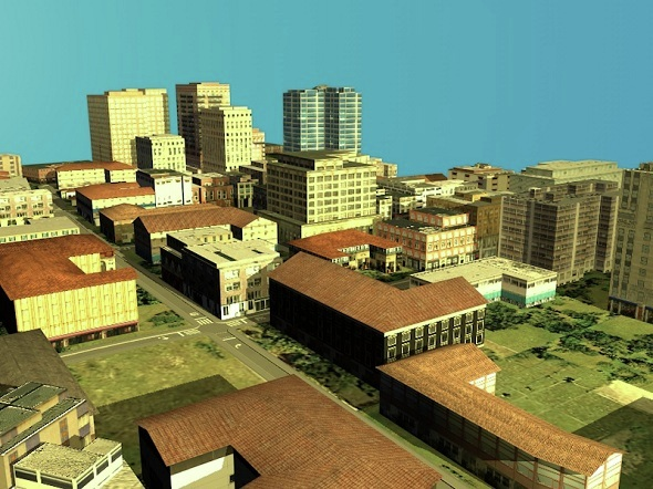 Low poly Mini city Pack - 3DOcean Item for Sale