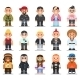 Different Subcultures Man in Flat Style - GraphicRiver Item for Sale