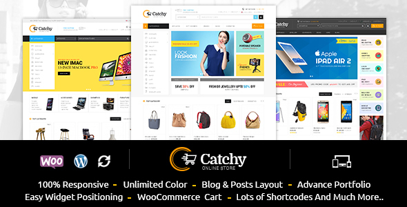 Catchy – Multipurpose WooCommerce Theme