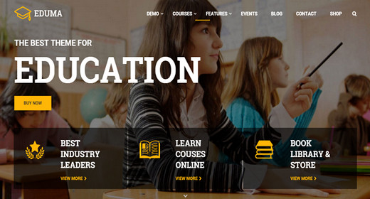 Education Theme for WordPress