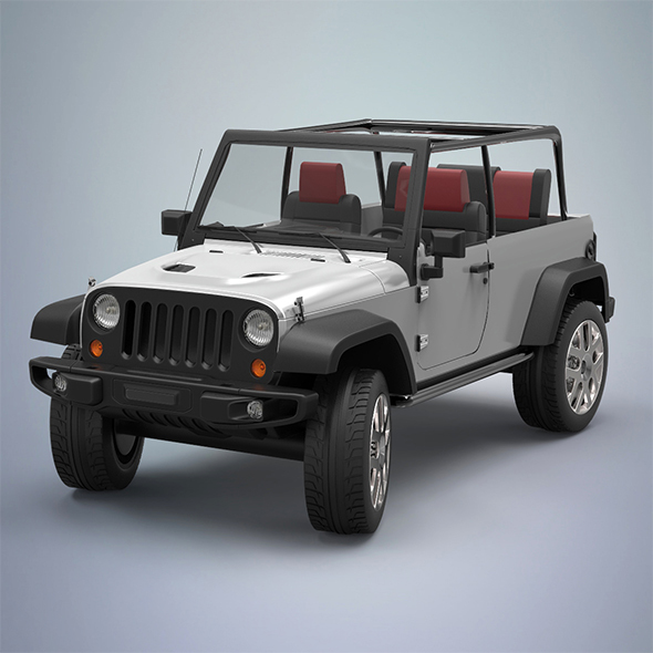 Jeep - 3DOcean Item for Sale