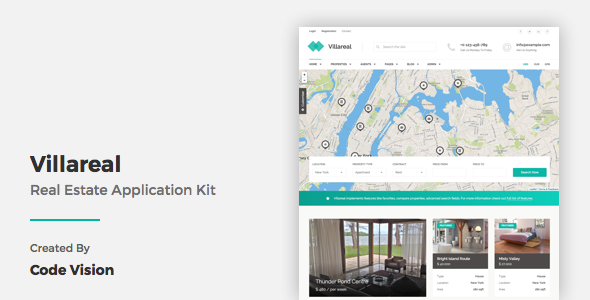 Villareal – Real Estate Application Kit