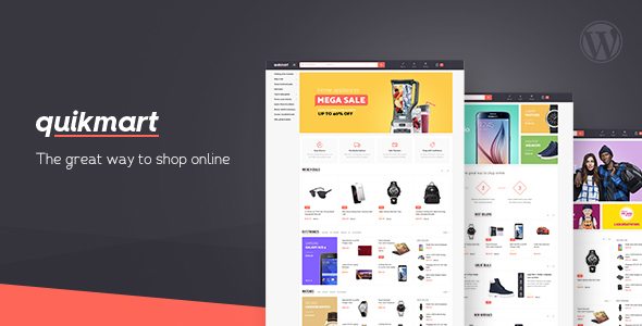 Quickmart Multi-purpose WooCommerce WordPress Theme