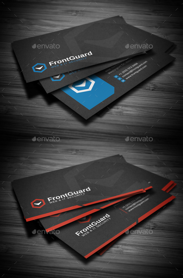 Business Cards Bundle #10 - Business Cards Print Templates