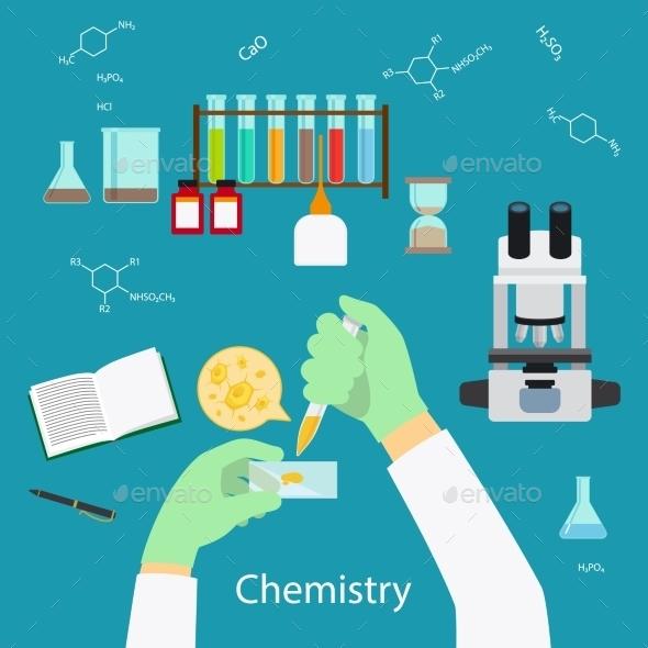 Chemistry Laboratory Concept - Miscellaneous Conceptual