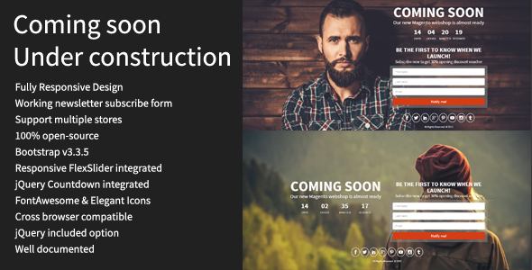 Coming soon - Magento Extension - CodeCanyon Item for Sale