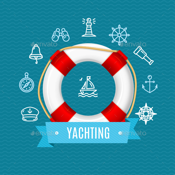 Nautical Sea Yachting Concept - Travel Conceptual