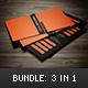 Business Cards - Bundle - GraphicRiver Item for Sale
