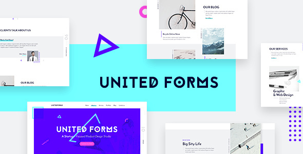 United Forms Creative Agency HTML Template