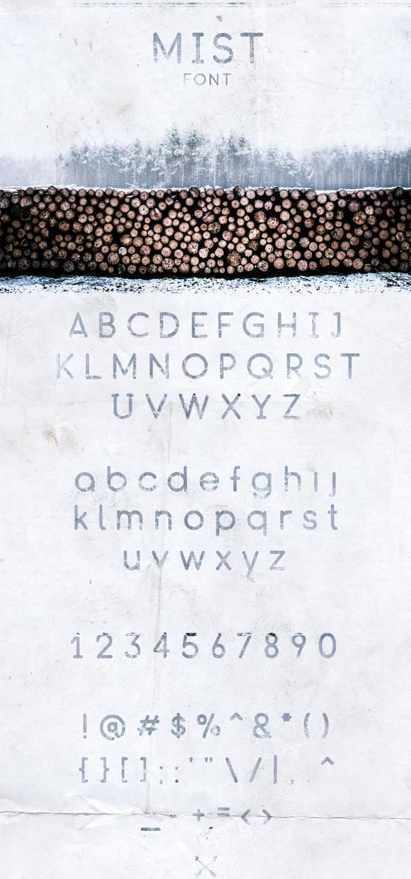Mist Font - Sans-Serif Fonts