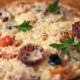 Pizza With Ham, Pepper, Tomato And Olives - VideoHive Item for Sale