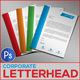 Corporate Letterhead - GraphicRiver Item for Sale