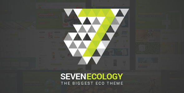 7 Ecology - Eco / Nature / Bio / Energy / Organic / Green HTML Template