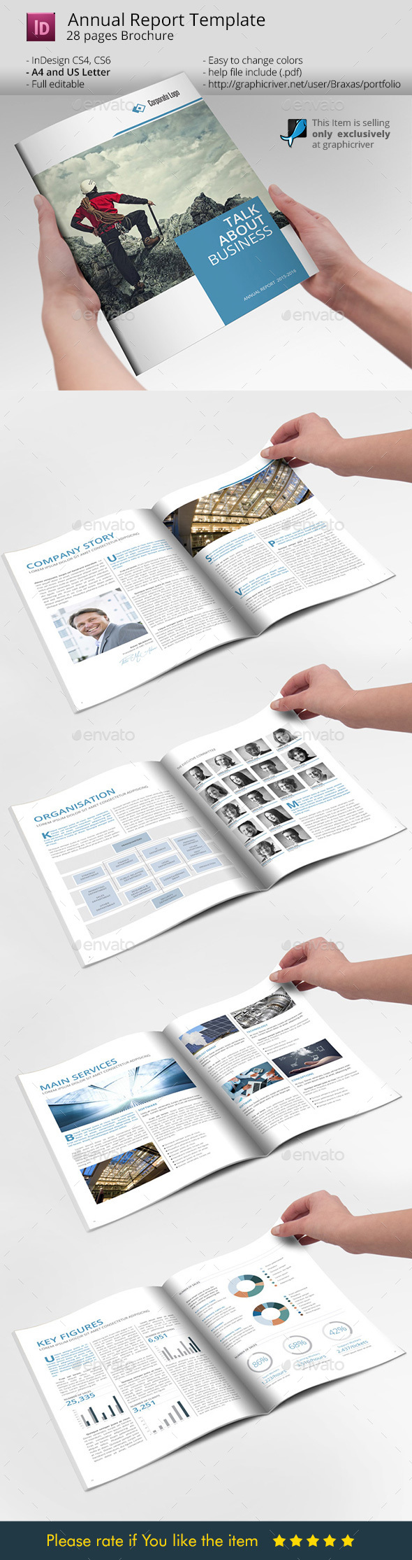 Business Print Template - Informational Brochures
