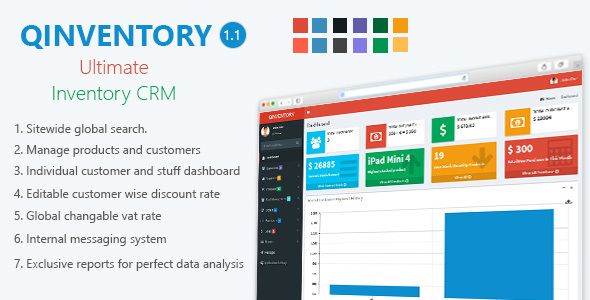 Qinventory CRM - CodeCanyon Item for Sale