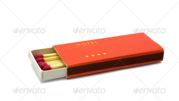 Hotel matches - Stock Photo - Images