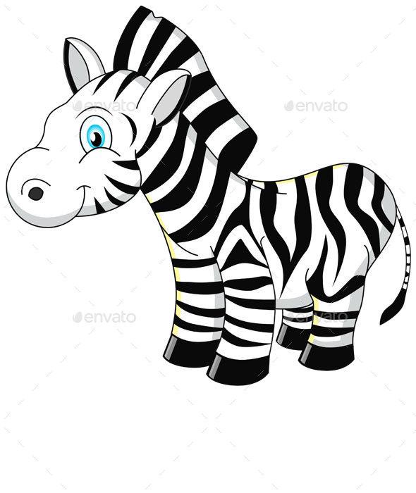 Cartoon Zebra - Animals Characters