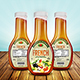 Salad Dressing Bottle Label Templates - GraphicRiver Item for Sale