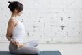 Yoga Indoors: Baddha Padmasana - PhotoDune Item for Sale