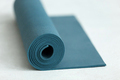 Rolled up fitness mat