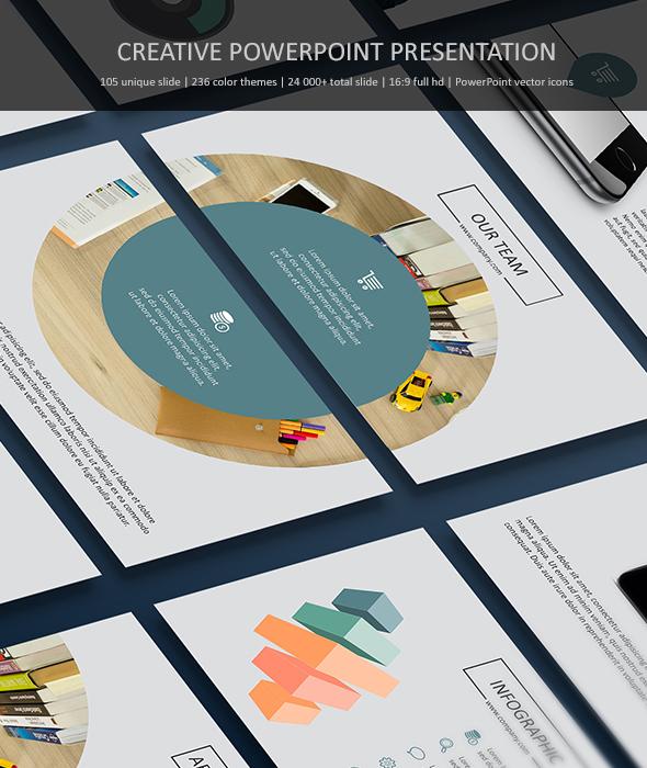 Creative Powerpoint Presentation Templates - Business PowerPoint Templates