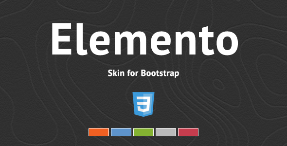 Download Sourcode              Elemento - Bootstrap Skin nulled version