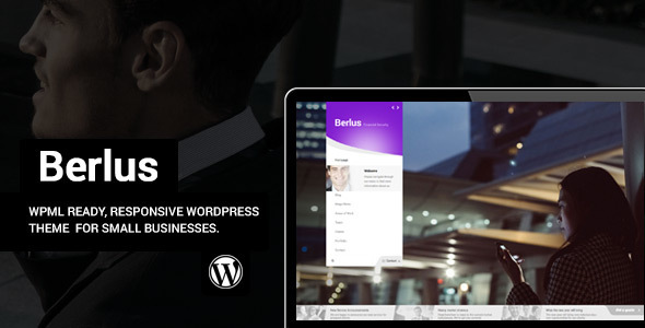 Berlus – Unique Business and Law Firm WordPress Theme