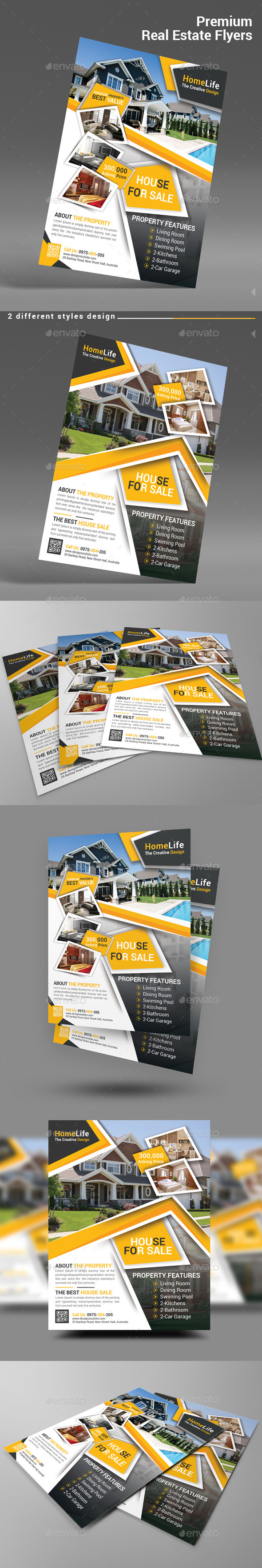 Premium Real Estate Flyers - Corporate Flyers