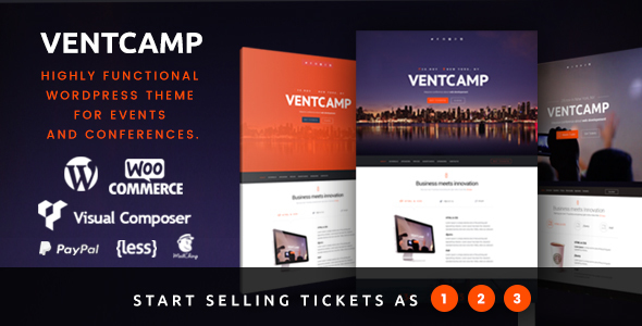 Ventcamp – Event and Conference Theme