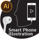 Smart Phone Illustration - GraphicRiver Item for Sale