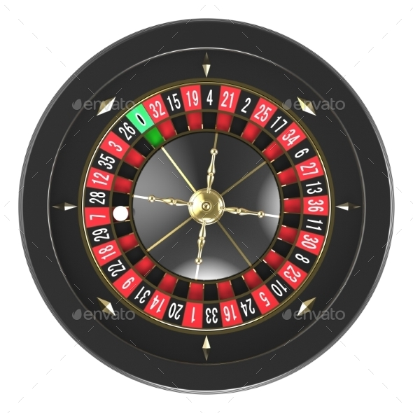Casino Roulette Wheel - Objects 3D Renders