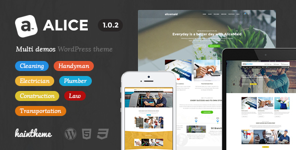 Alice - Multi-Concept Business WordPress Theme - Business Corporate