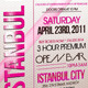 EVENT FLYER TEMPLATE VOL.4 - GraphicRiver Item for Sale