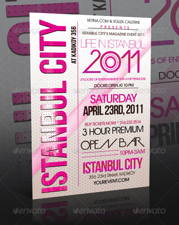 Event Flyer Template Vol4 By Mexelina Graphicriver