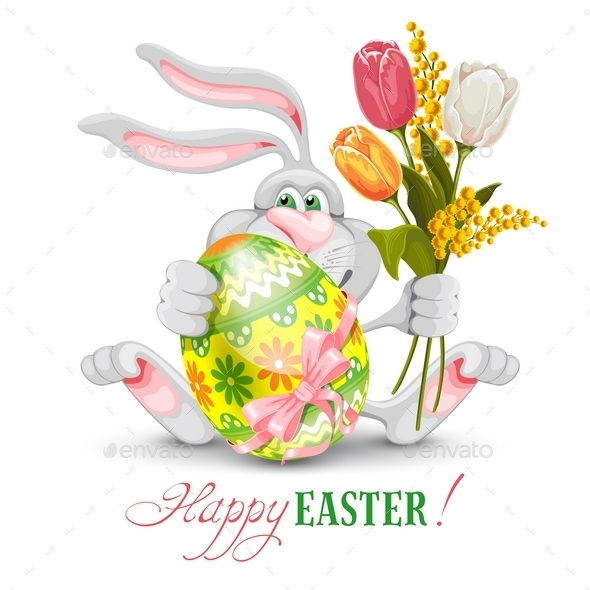Easter Greeting - Religion Conceptual